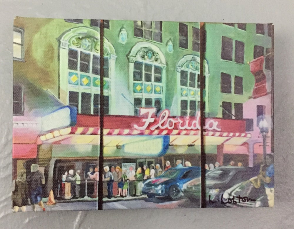 "Image of LL009 5X7 Reprint of ""Nightlife at the Florida Theatre"""