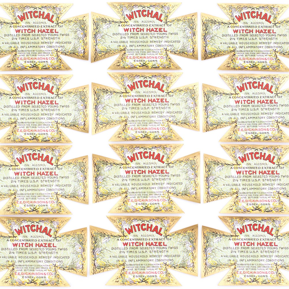 Image of Witch Hazel Labels - Set of 3