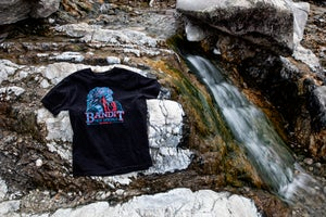 Image of Bandit Hot Springs Black Tee