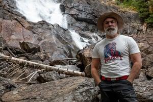 Image of Bandit Hot Springs Natural Tee