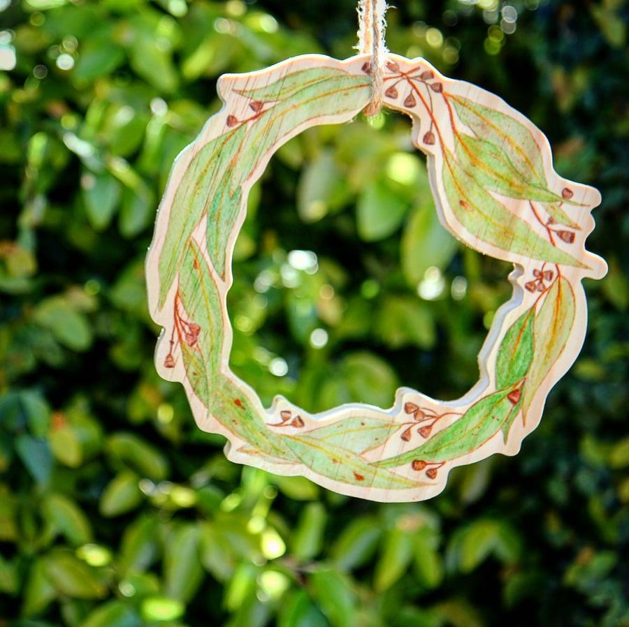 Image of Aussie Christmas Wreath