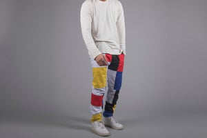 Image of Patchwork Pants Preorder