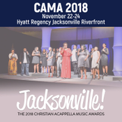 Image of 2018 Christian Acappella Music Awards - Weekend Admission