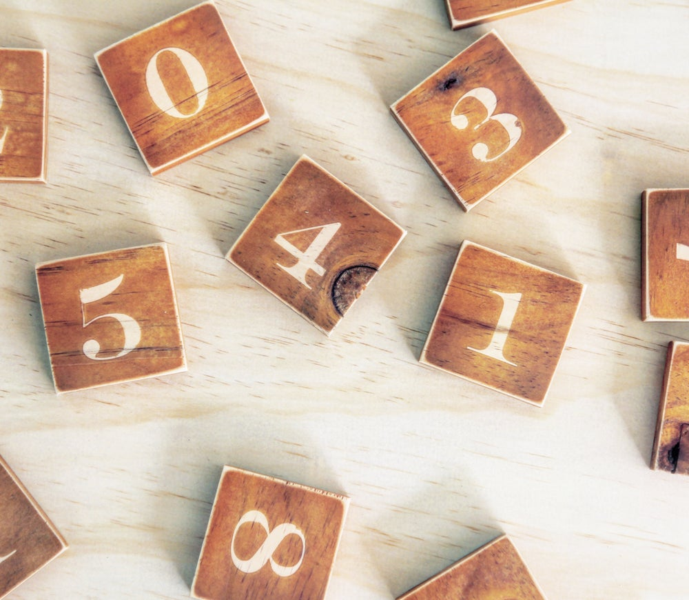 Image of Number Tiles