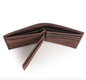 Image of Two-in-One Buffalo Leather Wallet