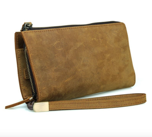 Image of Buffalo Leather Clutch Wallet