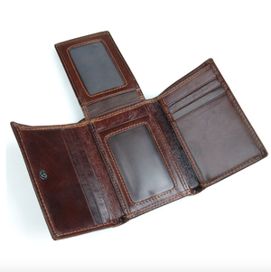 Image of Slim Calf Leather Wallet