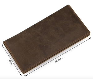 Image of Buffalo Leather Bifold Wallet