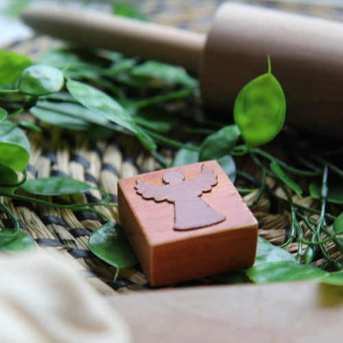 Image of Wooden Dough Stamps