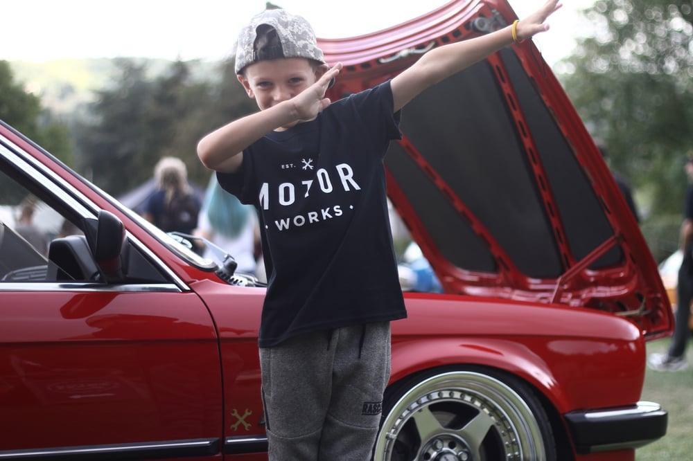 Image of MOTORWORKS KIDS TEE ☠️
