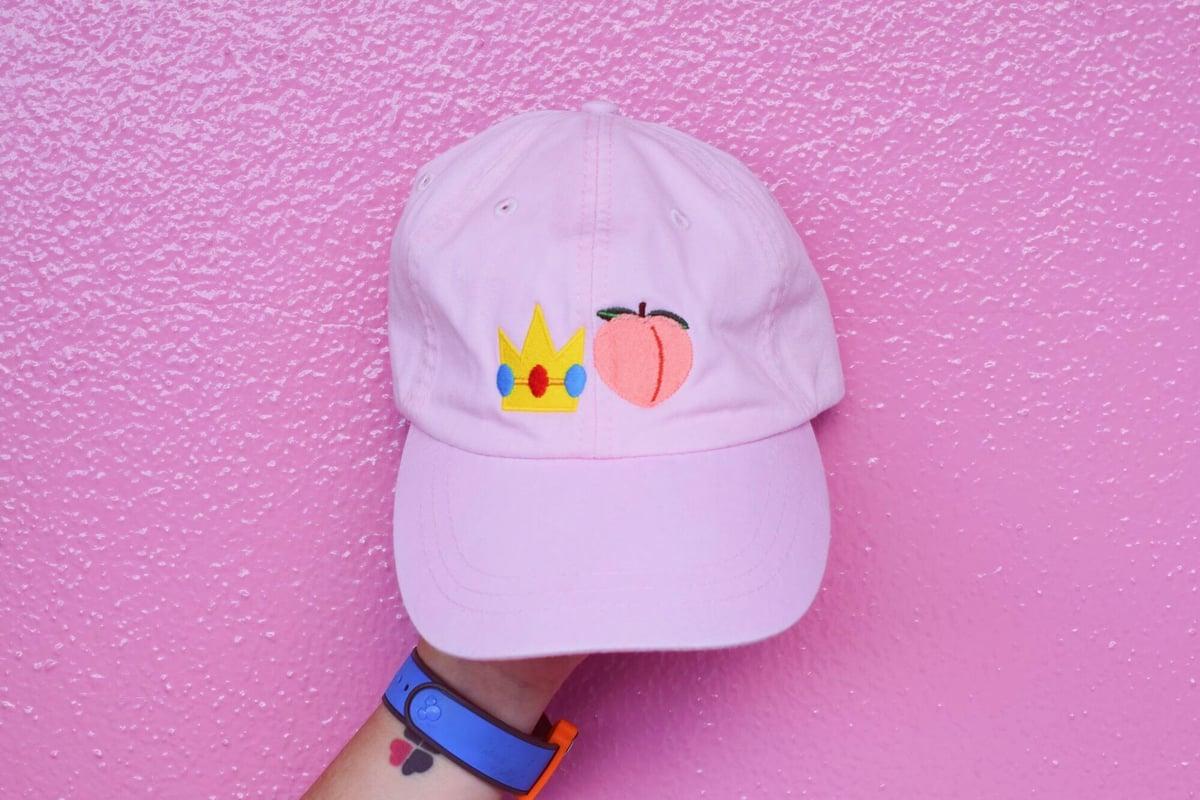Image of Princess Peach Dad Cap