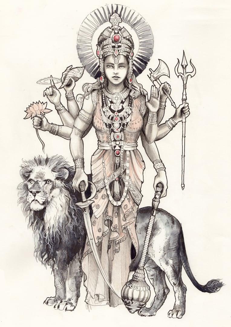Image of Durga