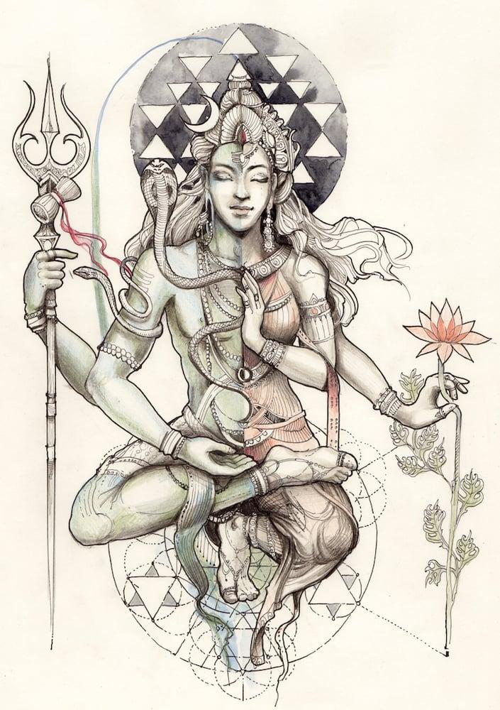 Image of Ardhanarishvara