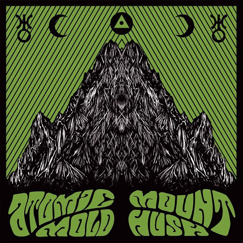 Image of ATOMIC MOLD/MOUNT HUSH Black Vinyl