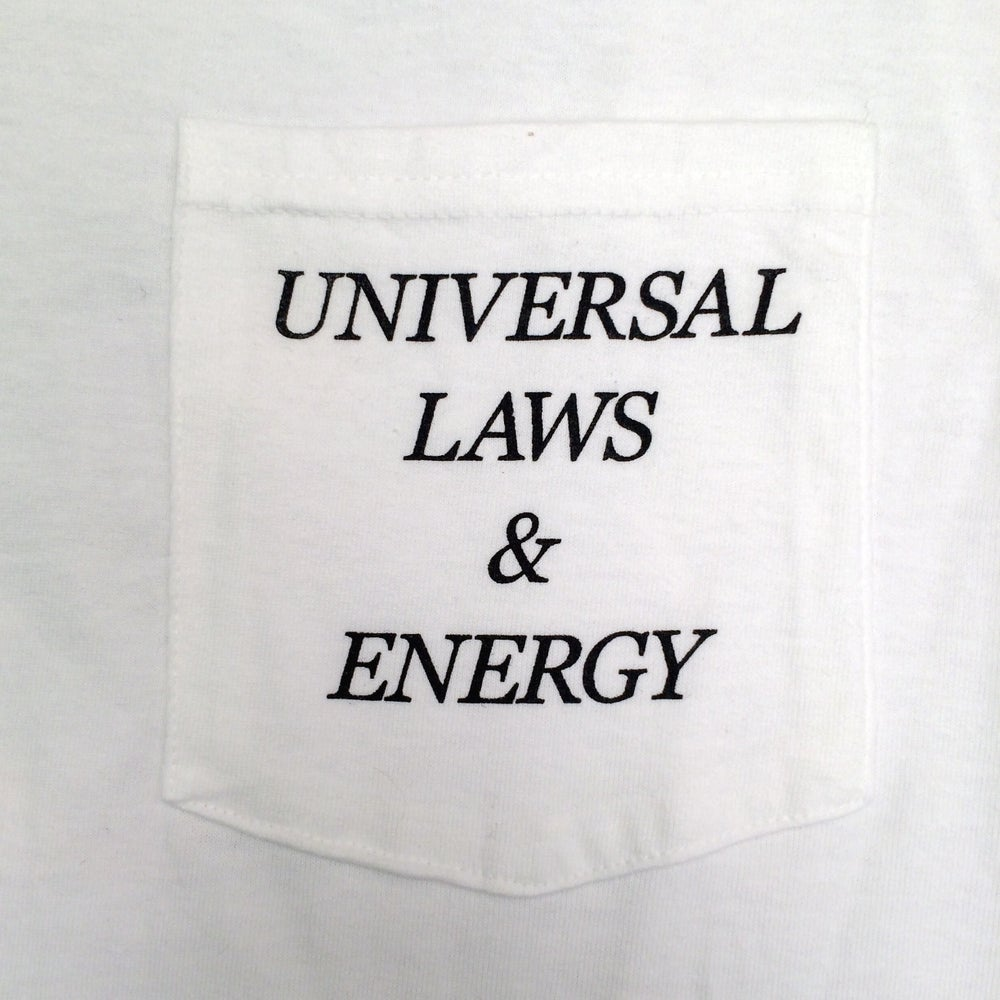 Image of ESP 'Laws' L/S Pocket T-Shirt (White)