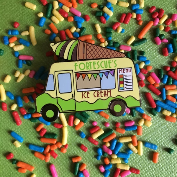 Image of Wizarding Ice Cream Truck Pin