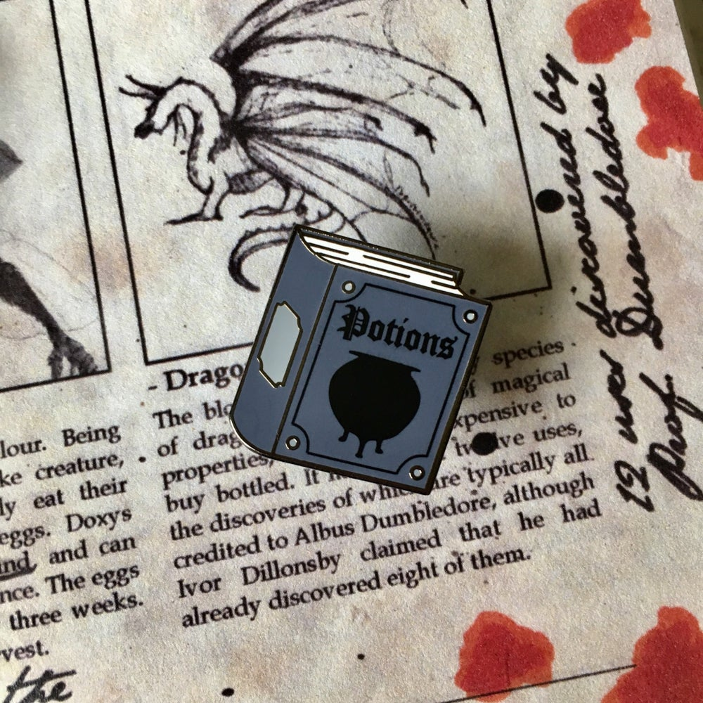 Image of Potions Textbook Pin