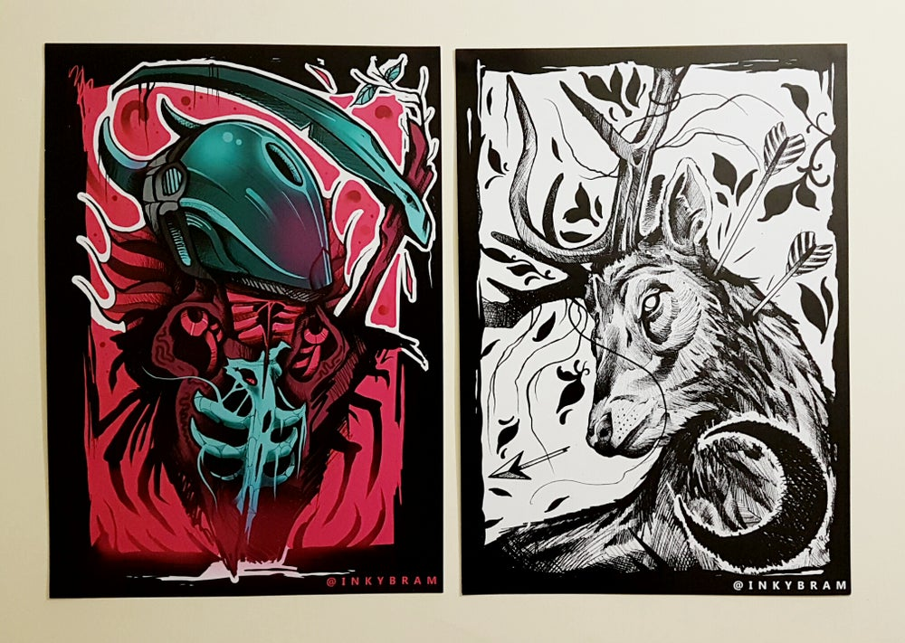 Image of A3 Print set.