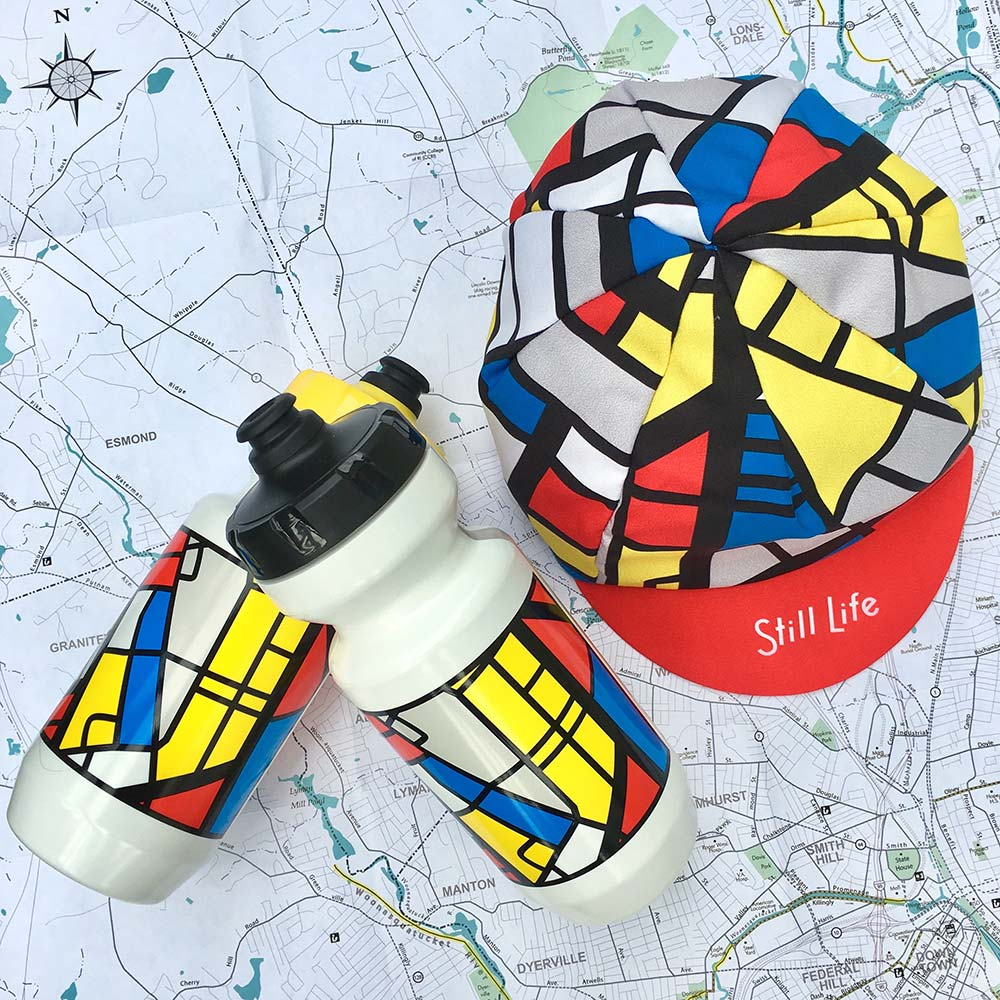 "Image of ""Mondrian Streetmap"" Cap & Bottle"