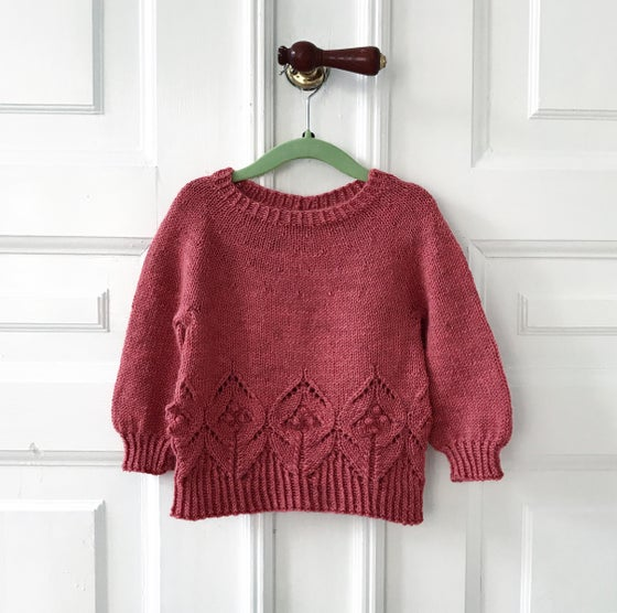 Image of Magnolia Mini (DANISH PATTERN ONLY - ENGLISH PATTERN ON RAVELRY)