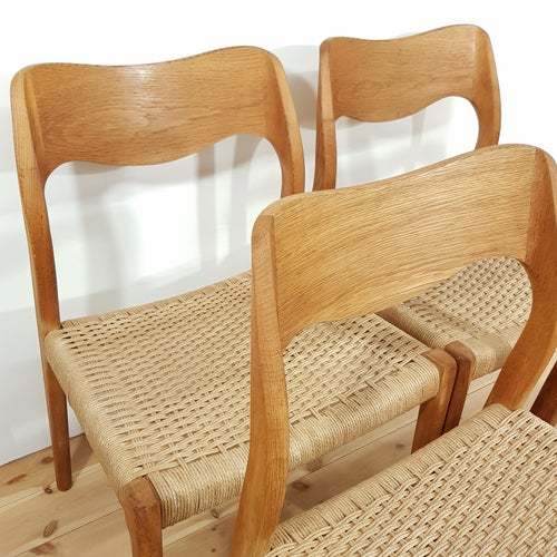 Image of Set de 4 sillas de Niels O. Møller