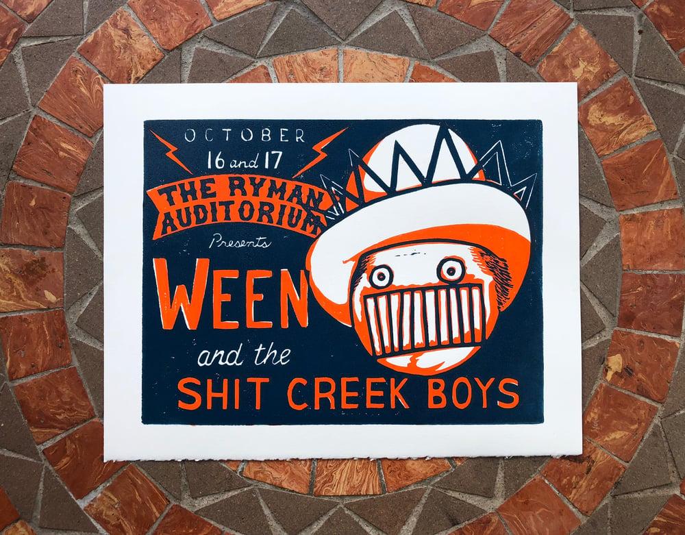 Image of Ween Nashville print