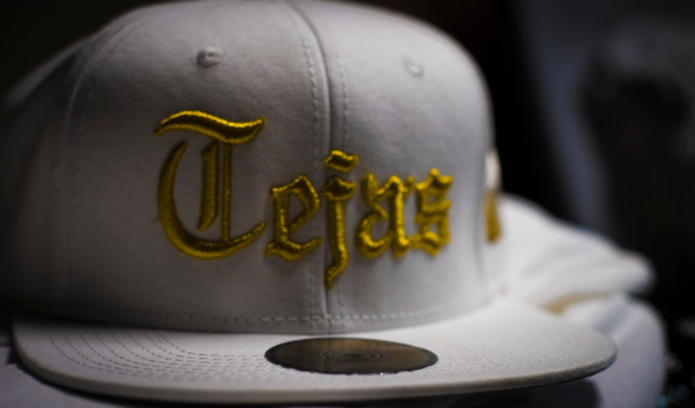 Image of White #Tejas SnapBack Cap