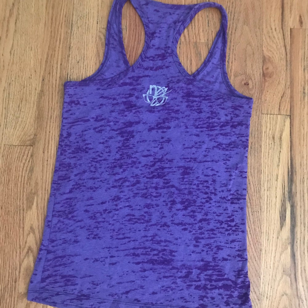 Image of periodic rockies. - women's racerback tank