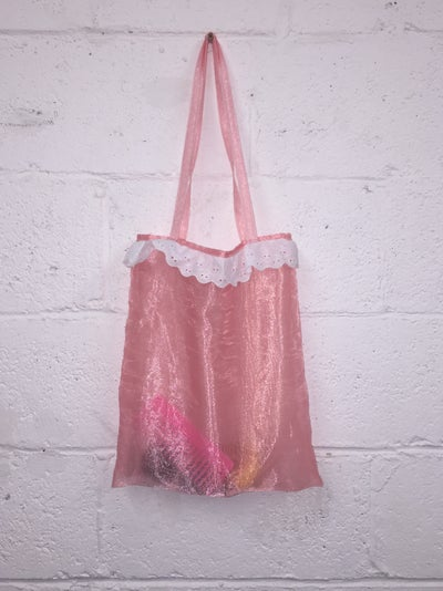 Image of see through tote
