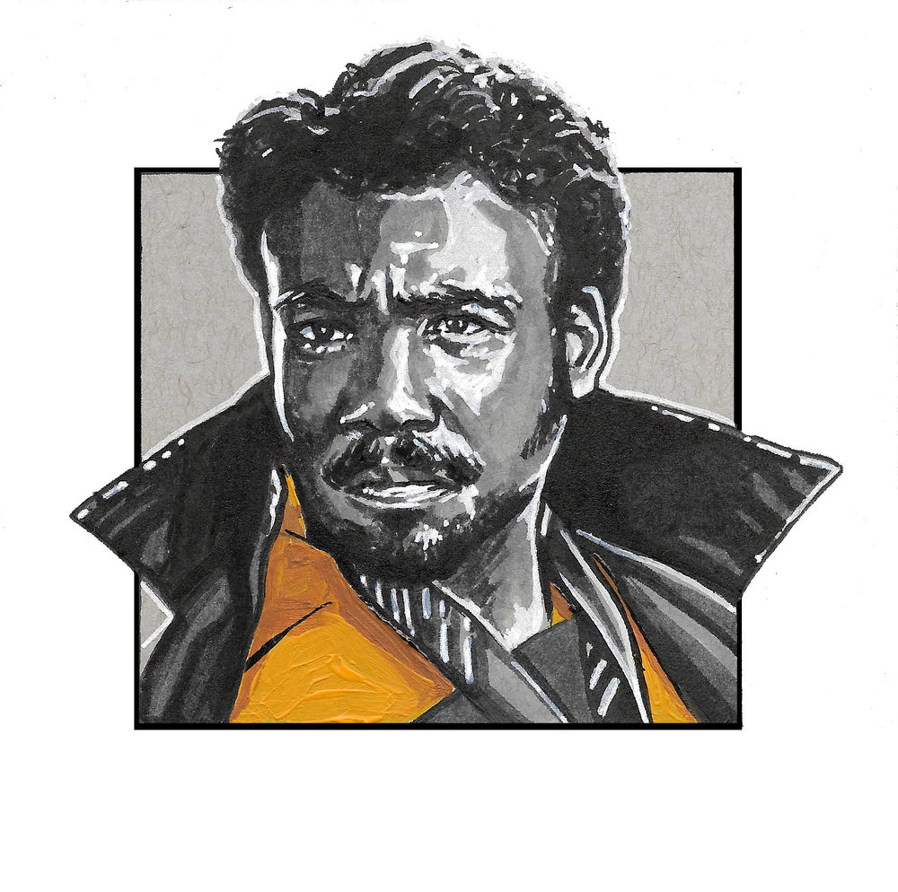 Image of Lando Calrissian - Square Print