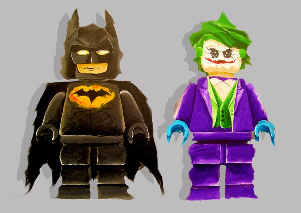 Image of Batman & Joker (Limited Edition Print)