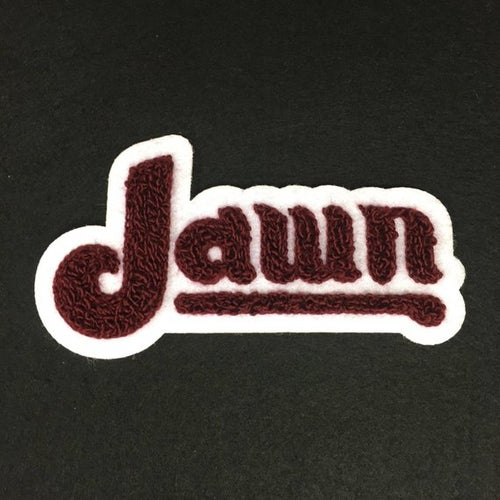 Image of Philly Jawn Chenille Tufted Patch