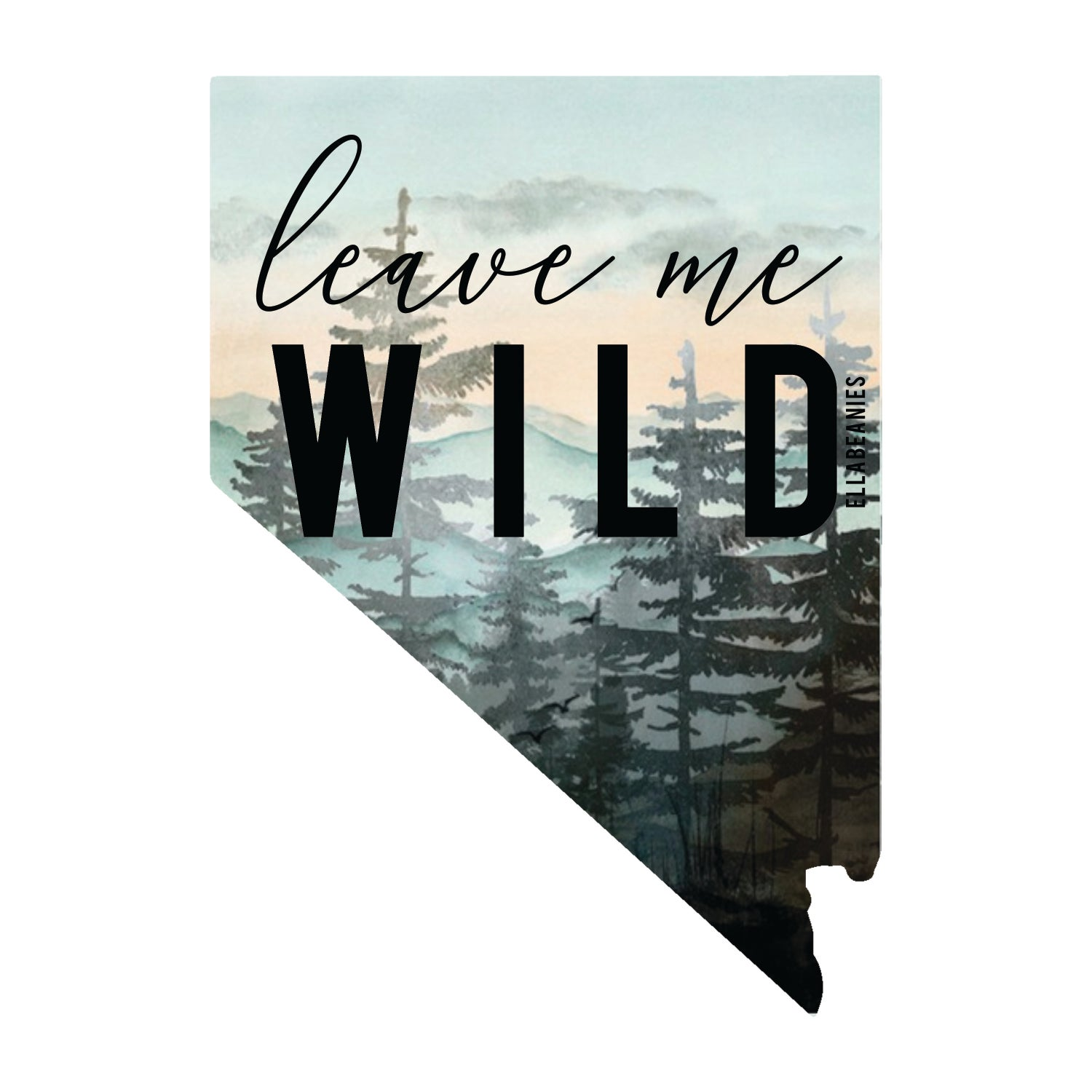 Image of Leave Me Wild sticker
