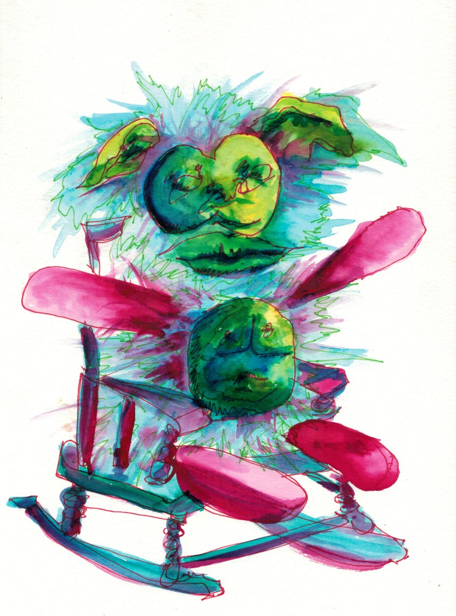 Image of Pickle Rocker (Print)