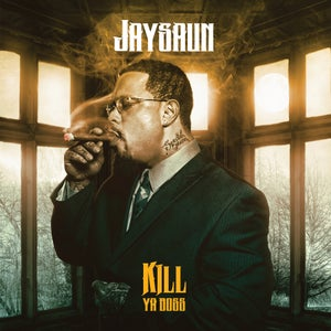 "Image of JAYSAUN ""KILL YA BOSS"" LP Vinyl (transparent blue colored)"