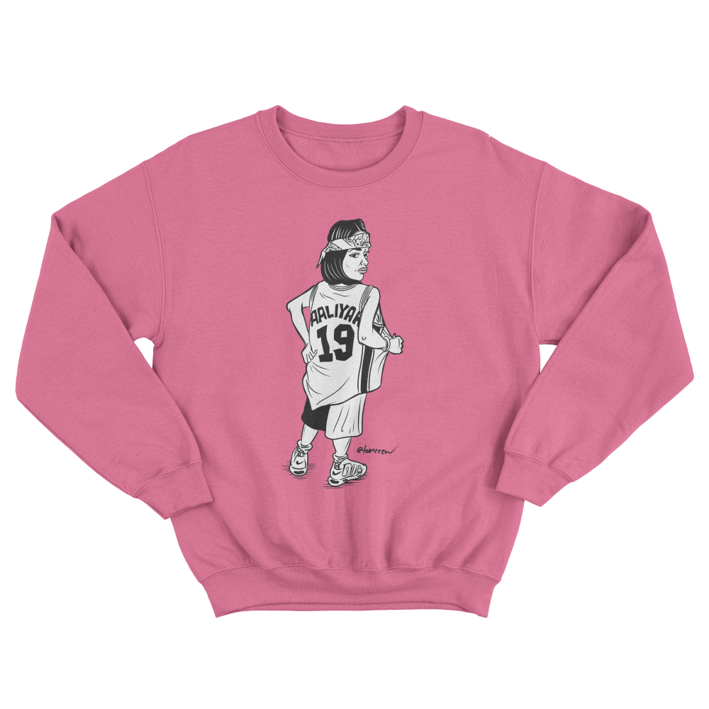 Image of Aaliyah 19 - Pink Crew
