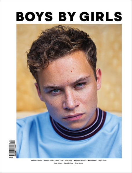 Image of BOYS BY GIRLS ISSUE 14 | THE DREAMERS | PRINT ISSUE | FINN COLE COVER