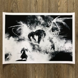 Image of Bridge of Khazad-dûm - Benno *GICLEE PRINT*