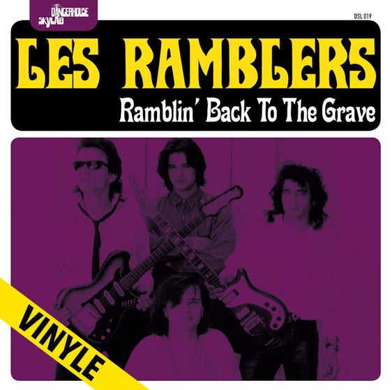 "THE RAMBLERS ""Ramblin'Back To The Grave"" LP"