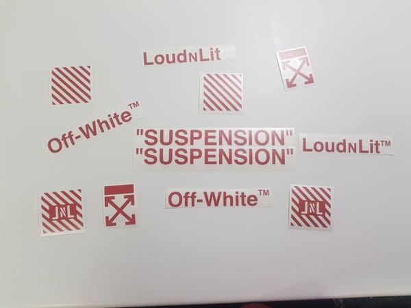 Stickers Loud N Lit