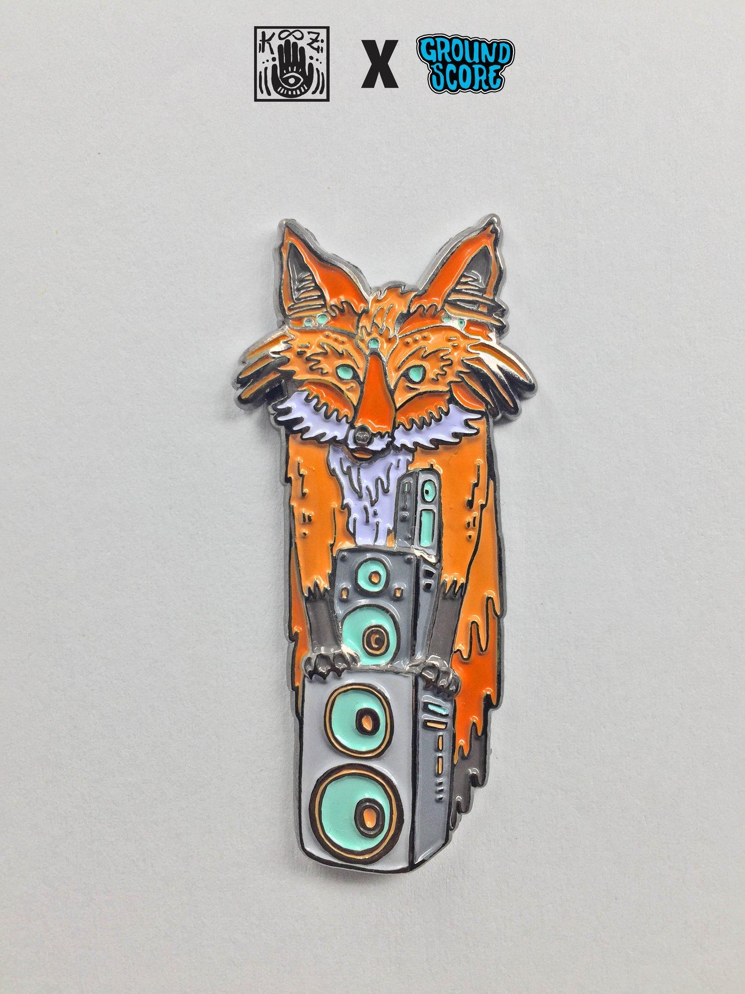 KOOZ - Speakerfox 3D Pin