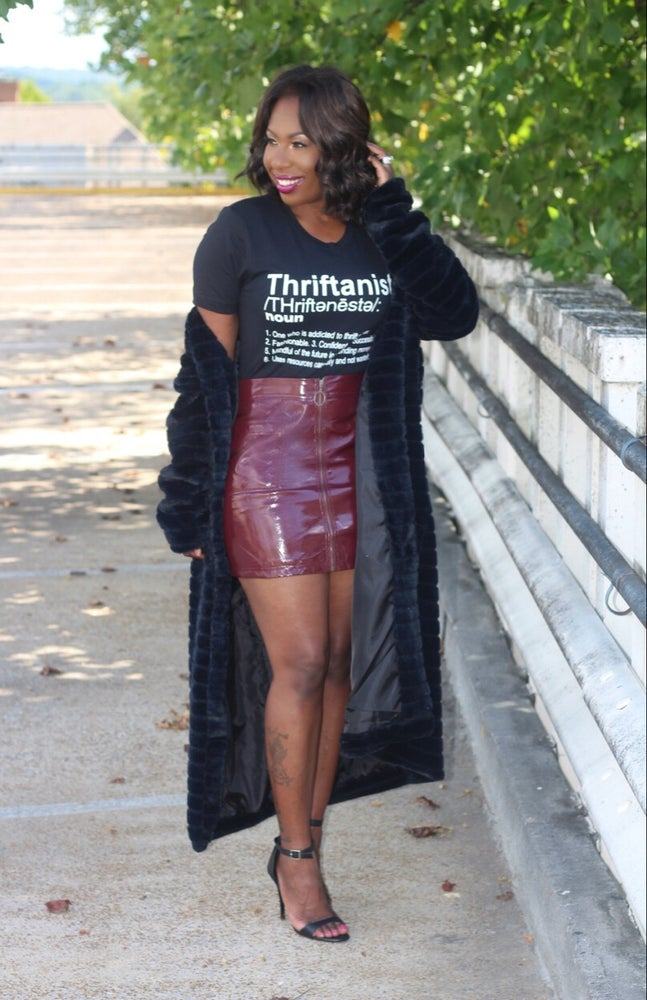 Image of Black Thriftanista T-Shirt