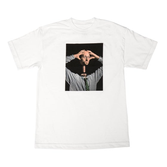 Image of HEAD BUSS TEE WHITE