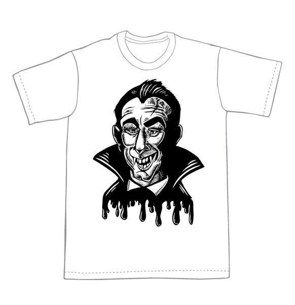 Image of Vampire T-shirt **FREE SHIPPING**
