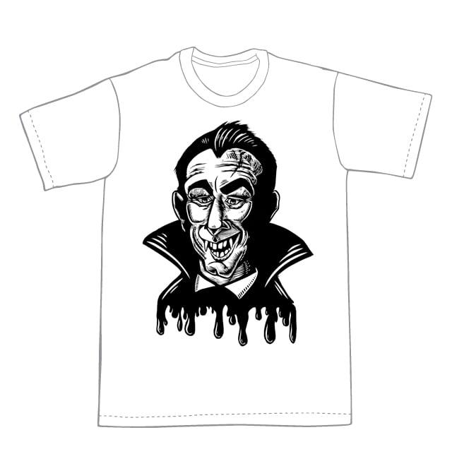 Vampire T-shirt (B1)**FREE SHIPPING**