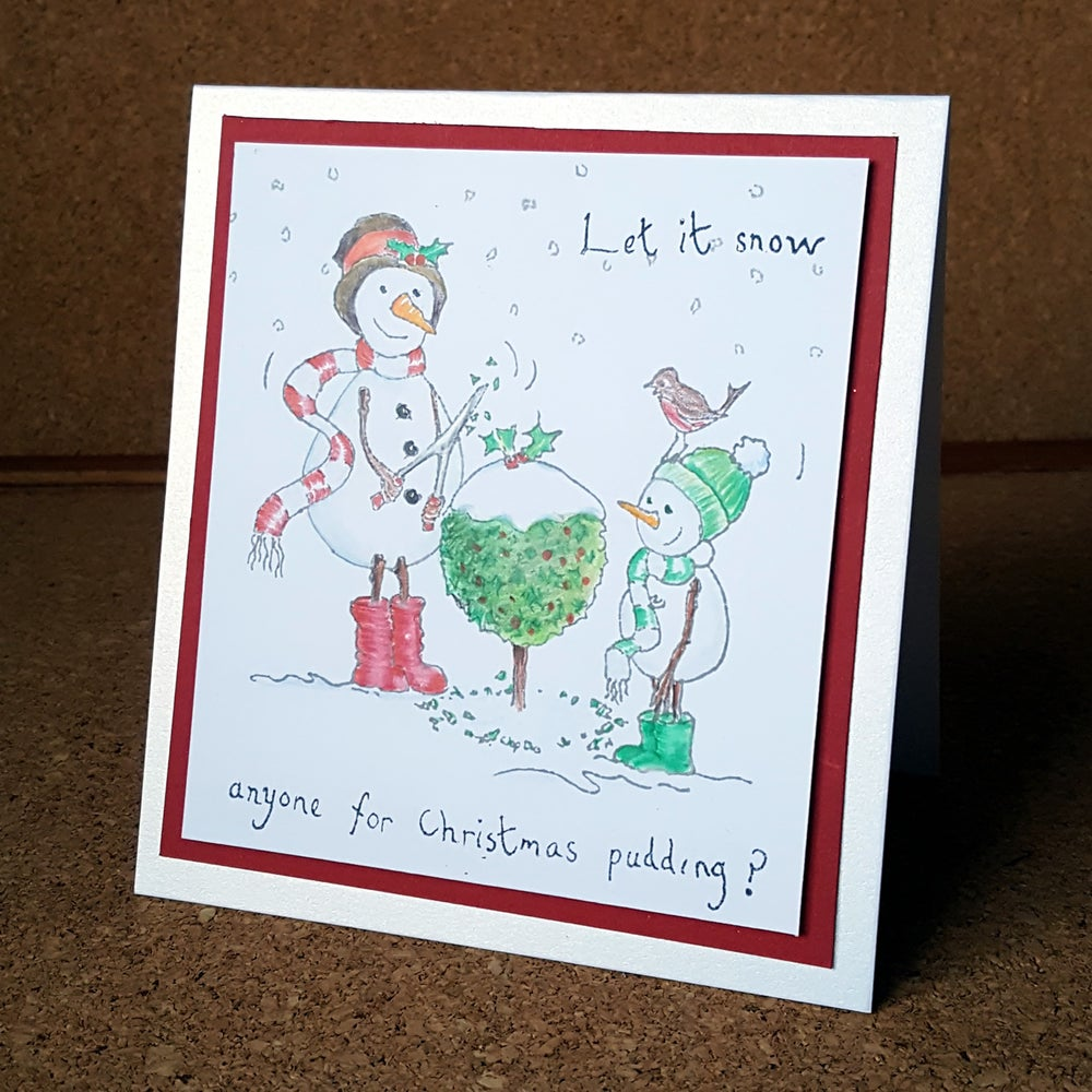 Image of Anyone For Christmas Pudding - Stamp Set