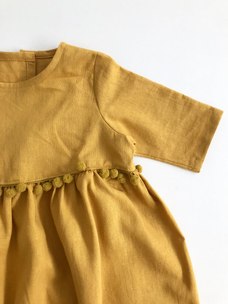 Image of The Classic Dress [mustard]