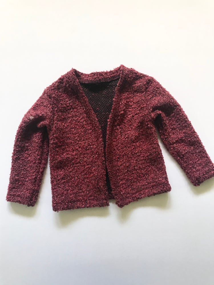 Image of The Cardigan [burgundy]