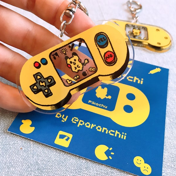 Image of Pokémon 'Let's Gotchi' Charms