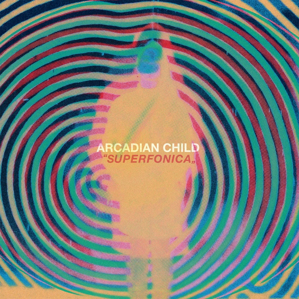 "Image of Arcadian Child - Superfonica ""Super Black"" Black Vinyl LP"